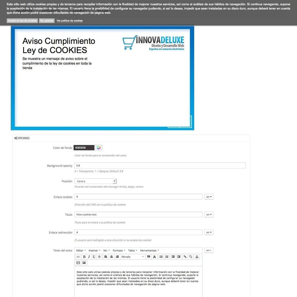 pack - Marco Legal (Ley Europea) - Pack 4 - Cumplimiento normativas legales LOPD, Cookies - 18