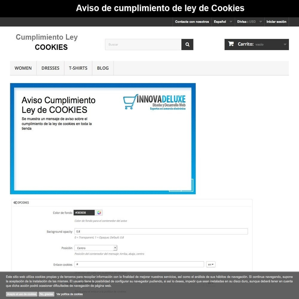 pack - Marco Legal (Ley Europea) - Pack 4 - Cumplimiento normativas legales LOPD, Cookies - 20