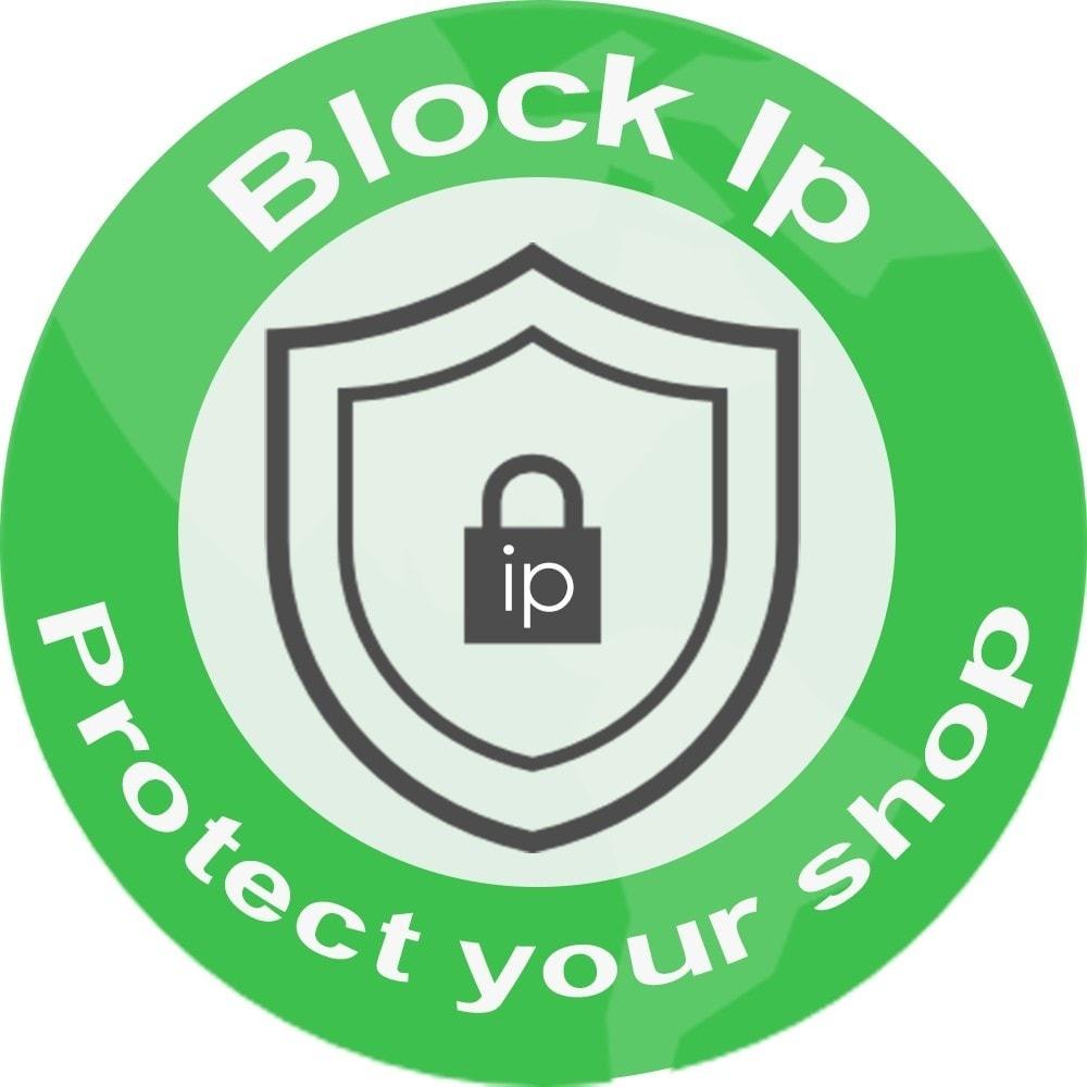 module - Безопасности и доступа - block ips - 2