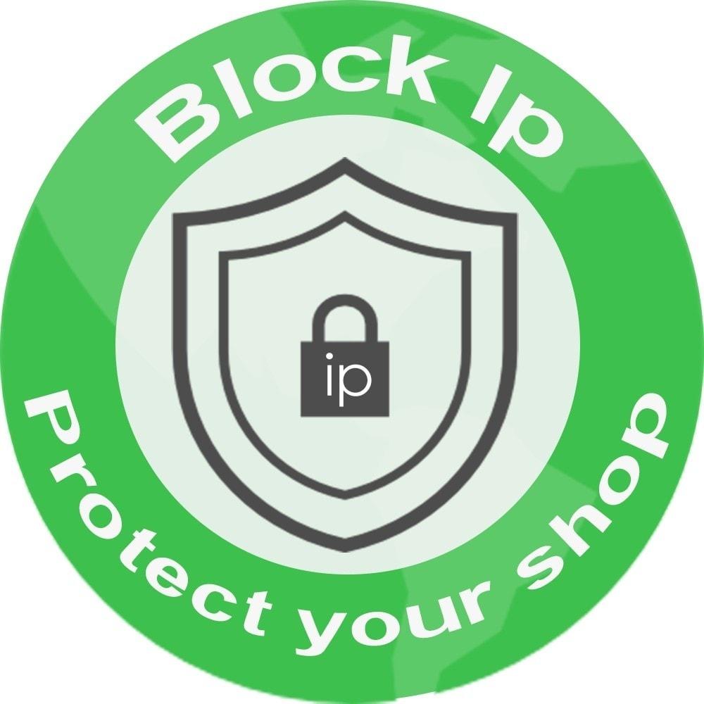 module - Sécurité & Accès - Bloquer des adresse Ip - 1