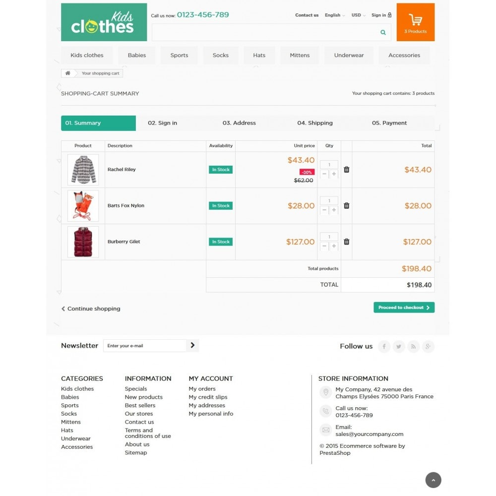theme - Enfants & Jouets - Kids Clothes 1.6 Responsive - 8