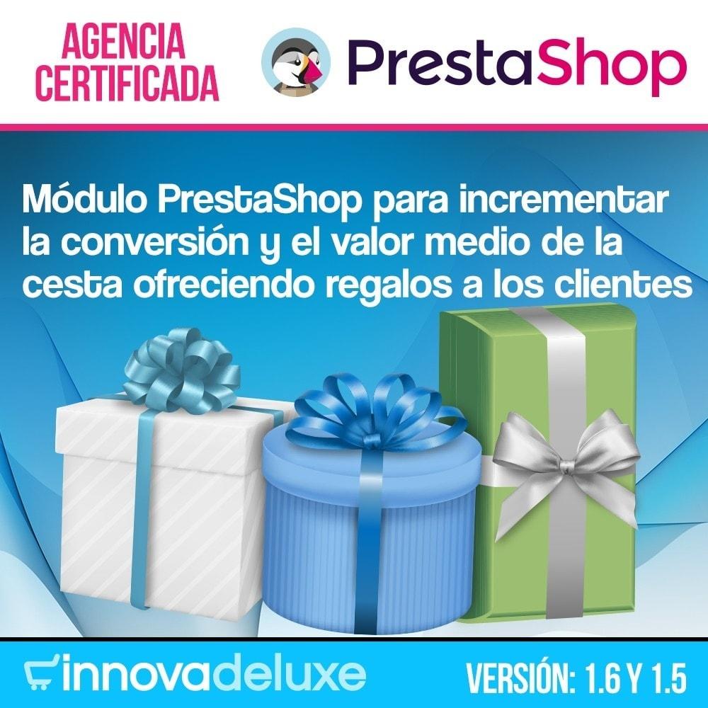 module - Promociones y Regalos - Regalos en la cesta para incrementar valor del pedido - 1