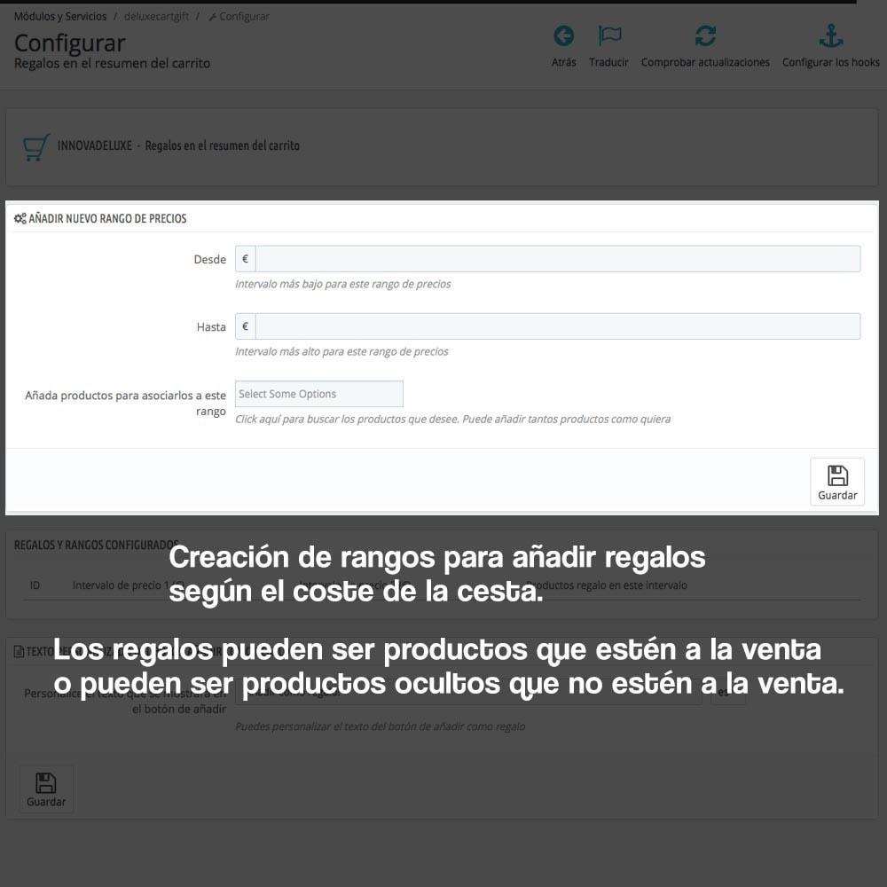 module - Promociones y Regalos - Regalos en la cesta para incrementar valor del pedido - 2