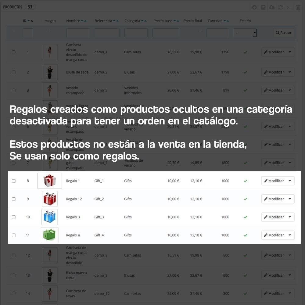 module - Promociones y Regalos - Regalos en la cesta para incrementar valor del pedido - 9