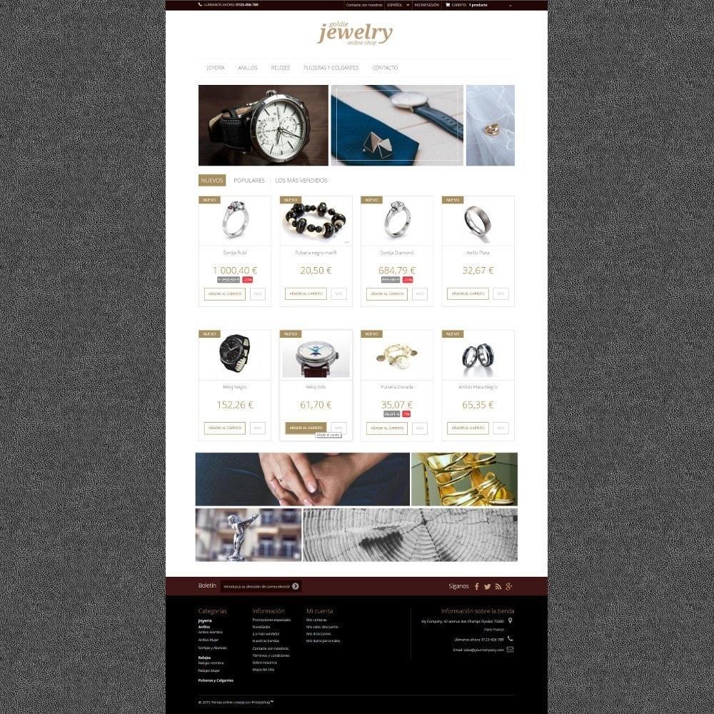 theme - Ювелирные изделия и Аксессуары - Goldie Jewelry - 2