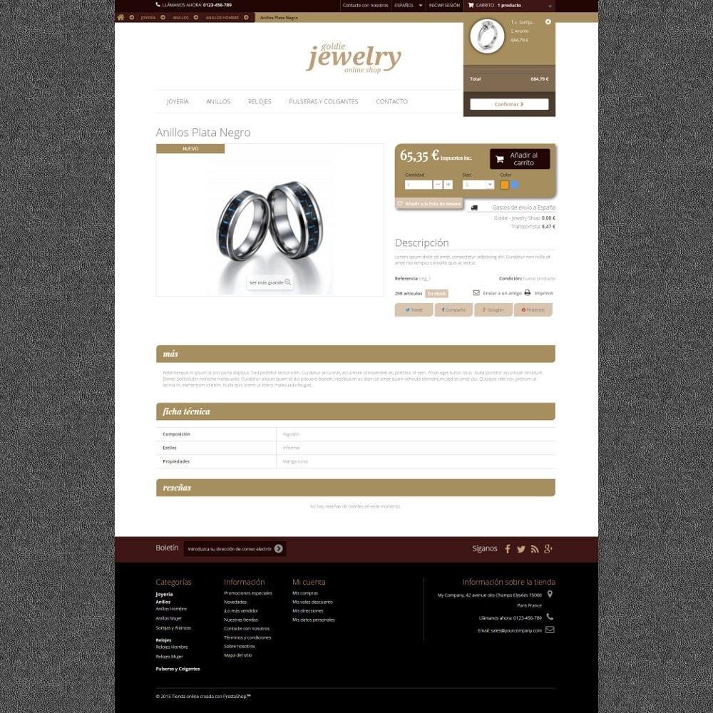 theme - Ювелирные изделия и Аксессуары - Goldie Jewelry - 4