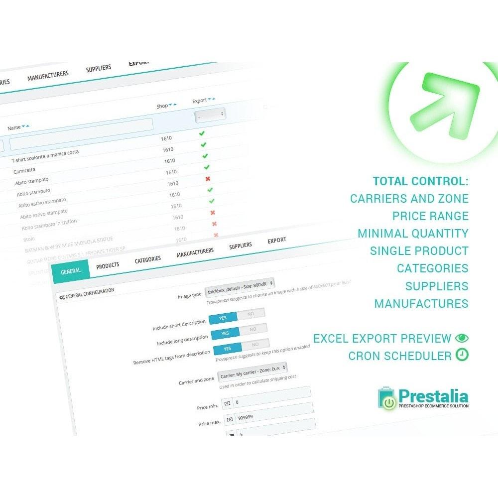 module - Daten Im-&Export - Export Produkte Trovaprezzi mit erweiterten Filtern - 2