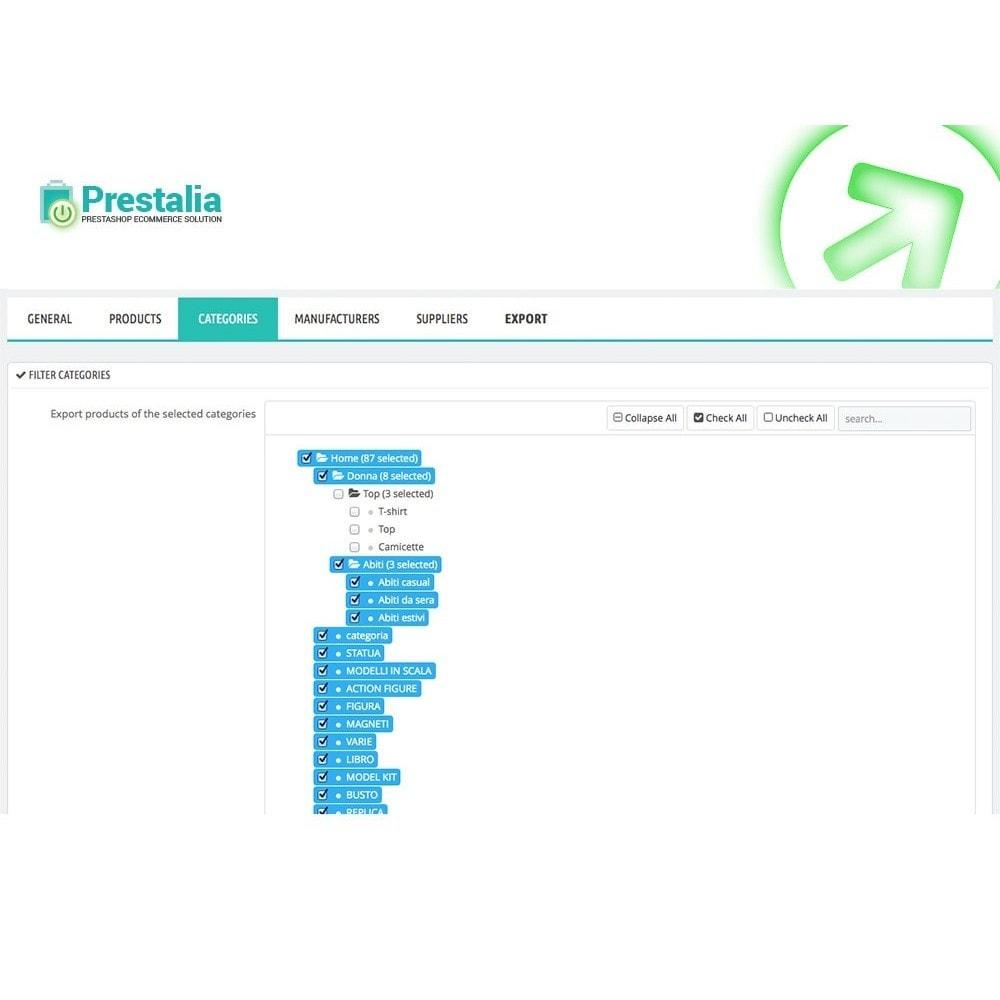 module - Daten Im-&Export - Export Produkte Trovaprezzi mit erweiterten Filtern - 5