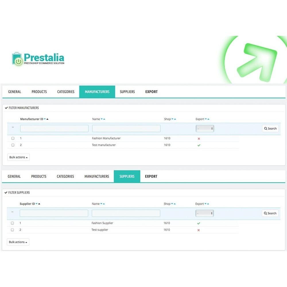 module - Daten Im-&Export - Export Produkte Trovaprezzi mit erweiterten Filtern - 6