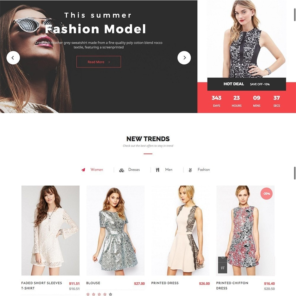 theme - Fashion & Shoes - MyShopping Fashion Responsive - 2