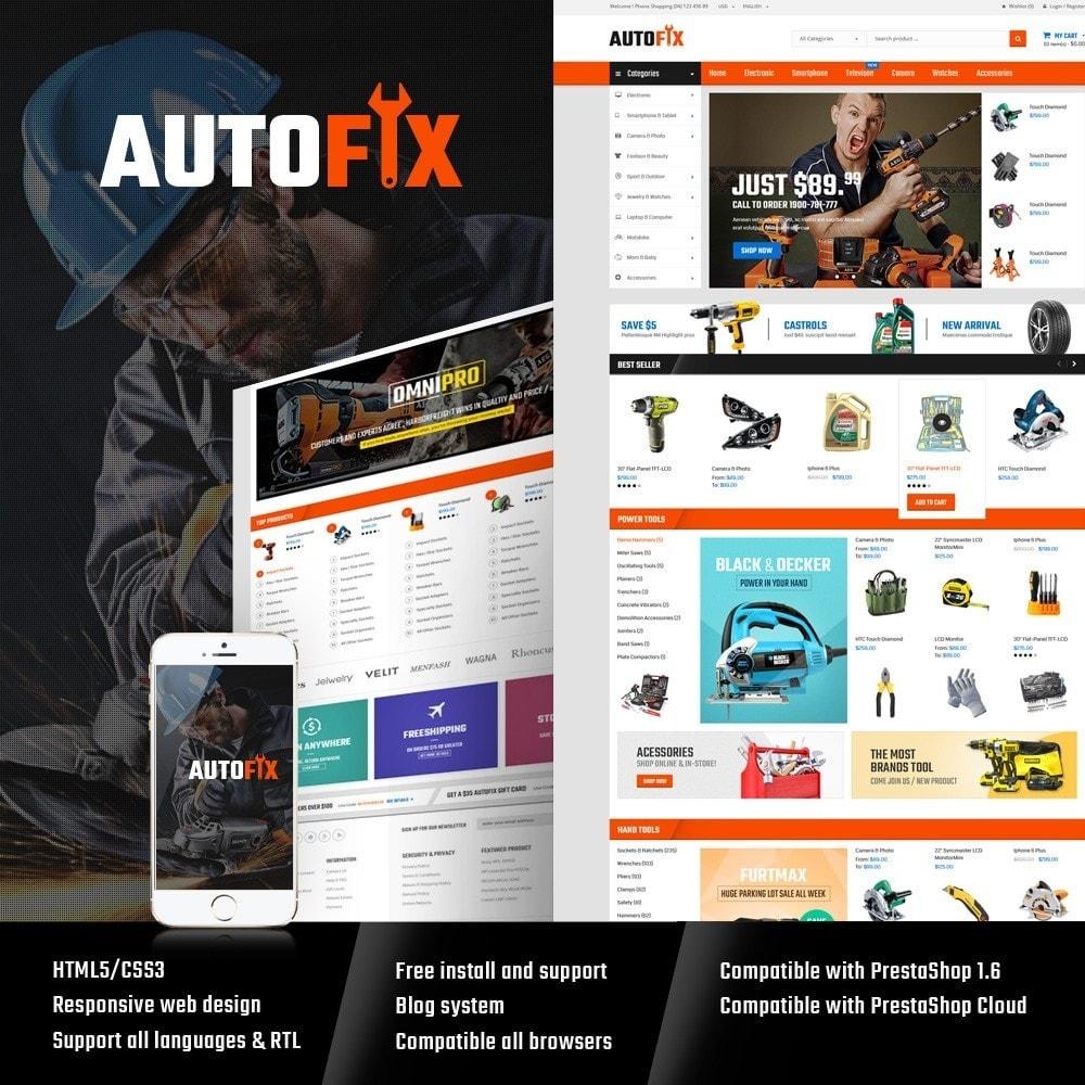 theme - Autos & Motorräder - Autofix - Tools Store - 1