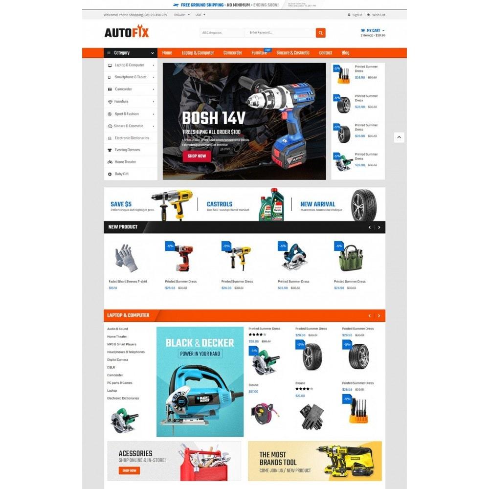 theme - Autos & Motorräder - Autofix - Tools Store - 2
