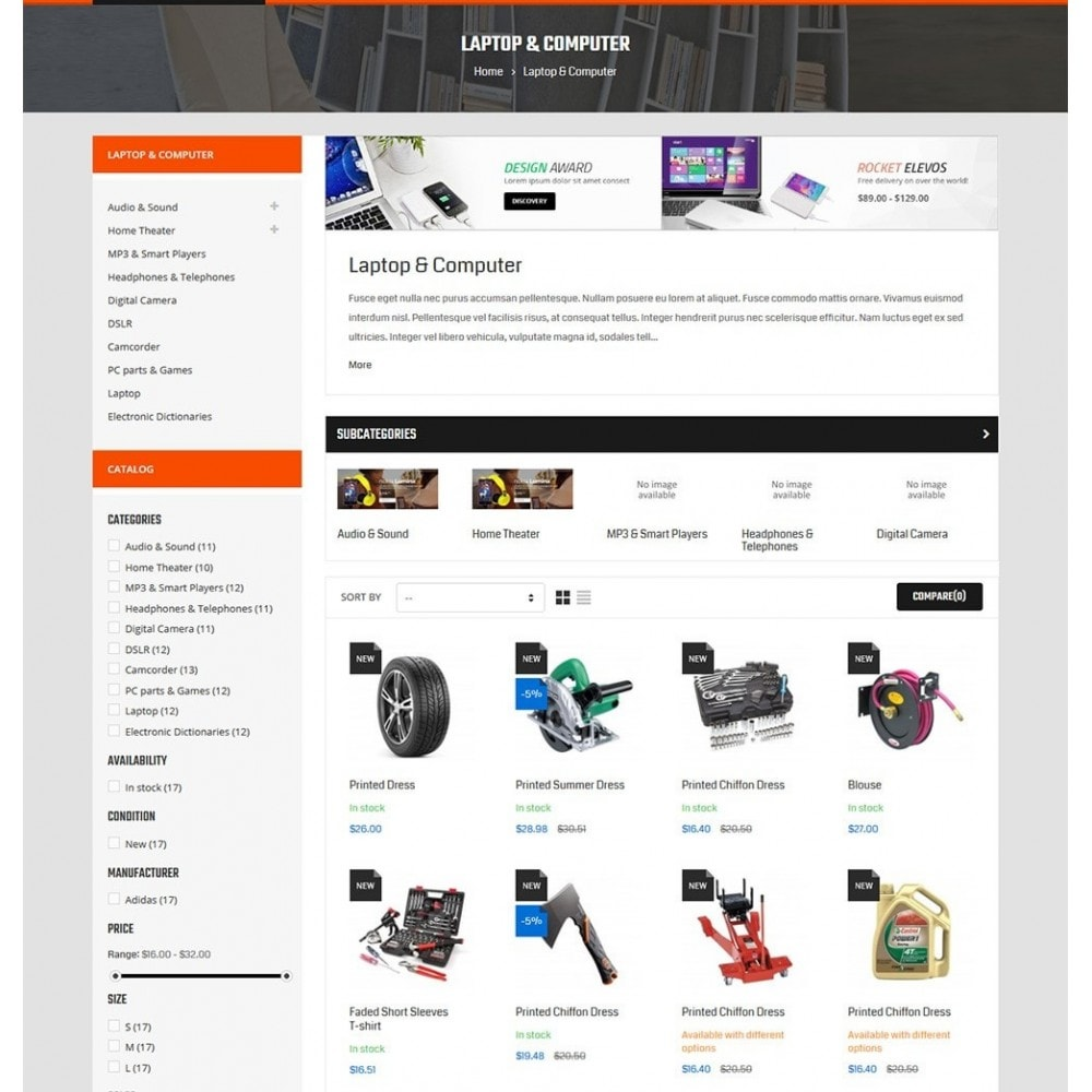 theme - Carros & Motos - Autofix - Tools Store - 4