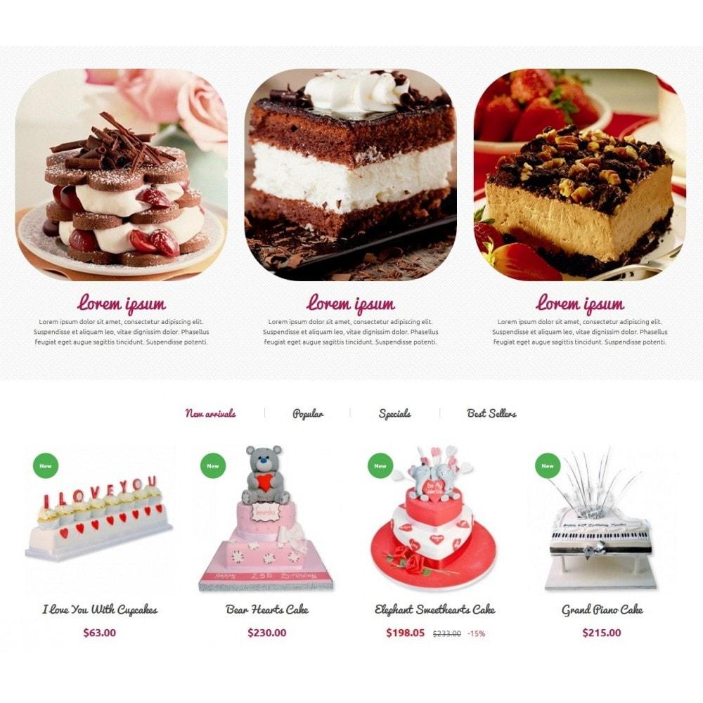 theme - Eten & Restaurant - Cakes Online store - 4