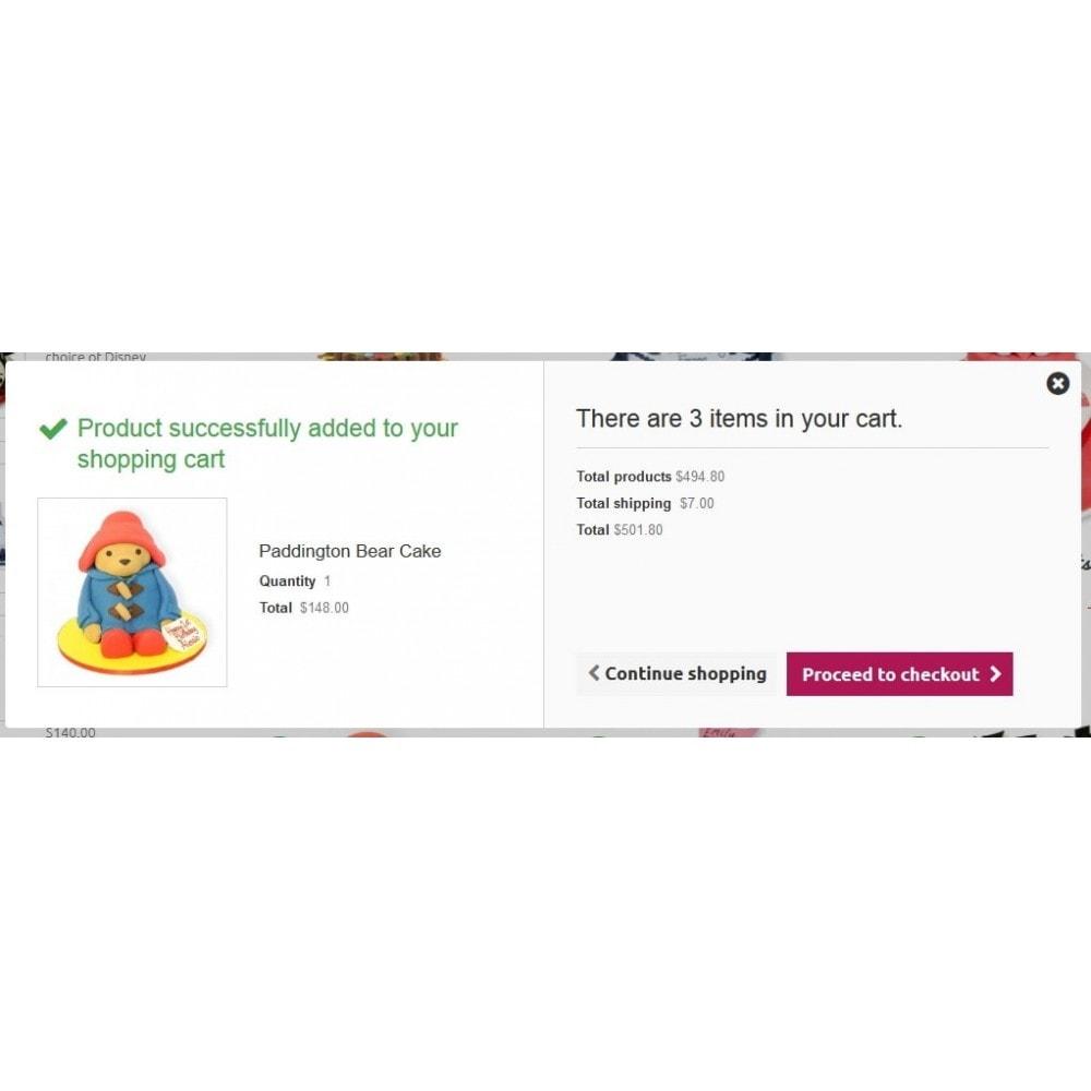 theme - Żywność & Restauracje - Cakes Online store 1.6. Responsive - 6