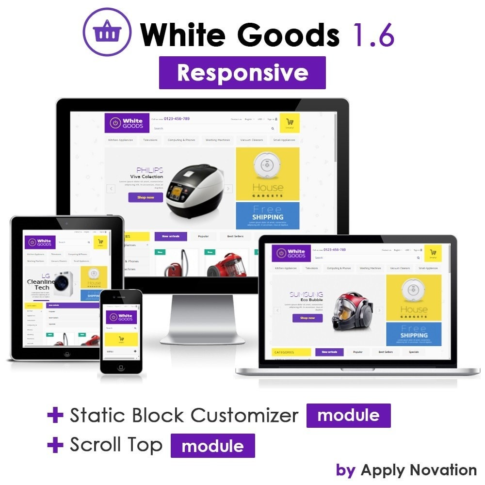 theme - Electronics & Computers - Appliances & White goods - 1