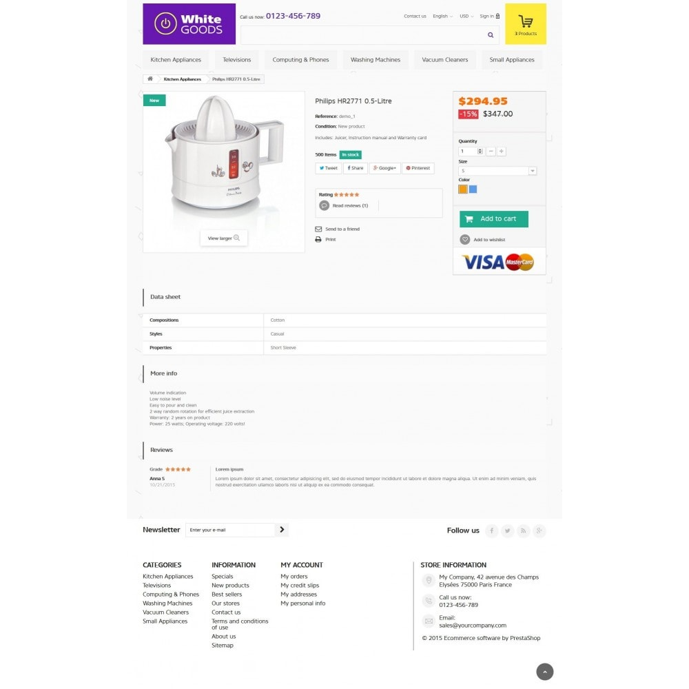 theme - Elektronica & High Tech - Appliances & White goods 1.6 Responsive - 7