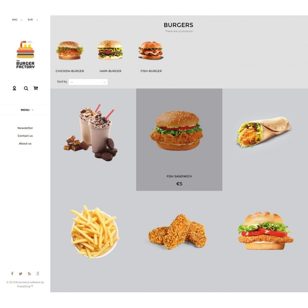 theme - Alimentos & Restaurantes - Restaurant Responsive - 2
