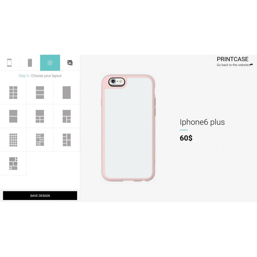 module - Combinations & Product Customization - Custom Phone Case - PrintCase - 3