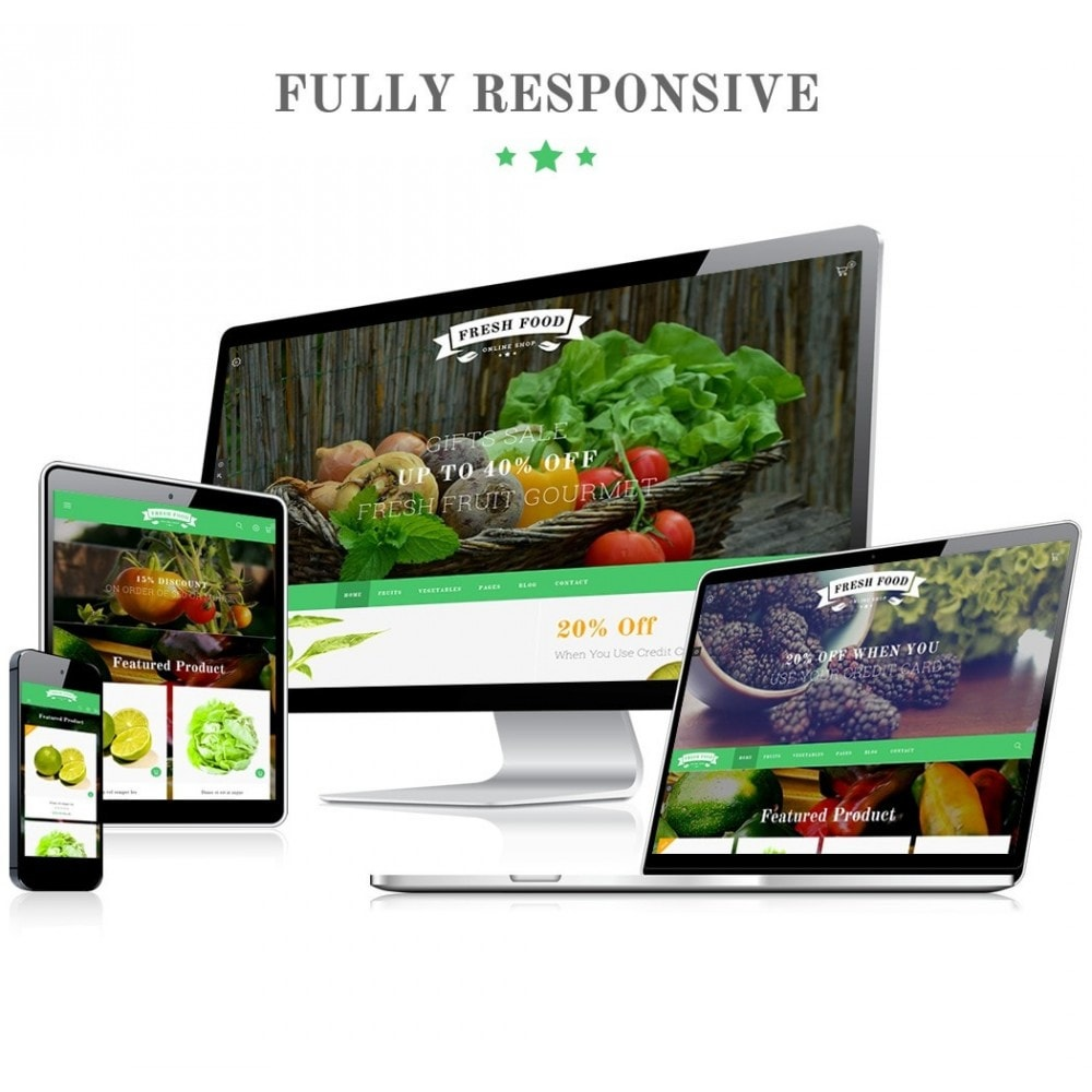 theme - Alimentation & Restauration - JMS FreshFood - 1