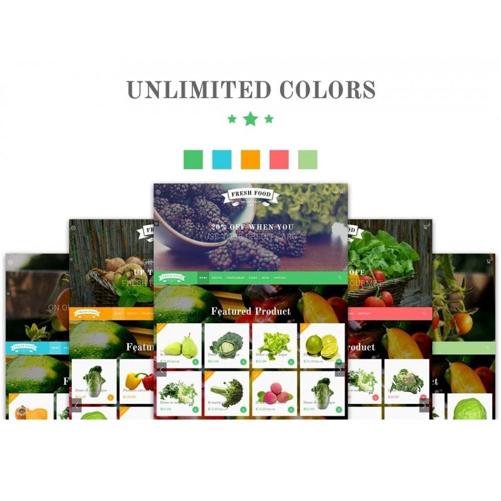 theme - Alimentation & Restauration - JMS FreshFood - 2