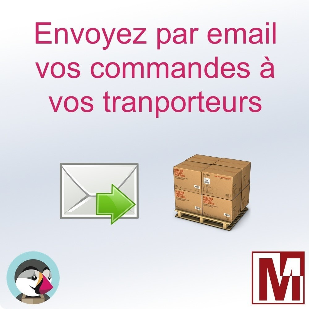 module - Préparation & Expédition - Envoyez vos commandes par email aux transporteurs - 1