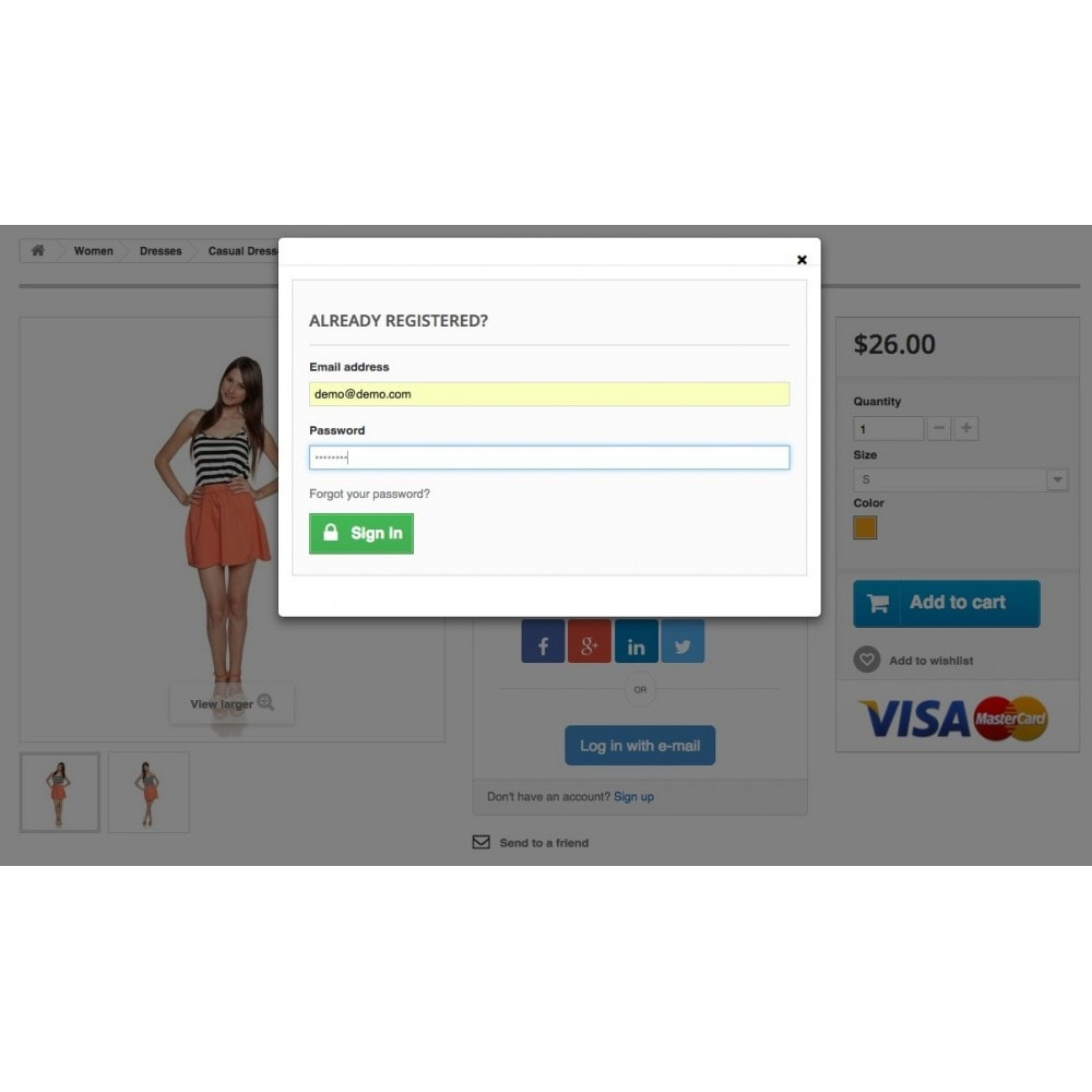 module - Login & Verbinden - Social Login Authentication - 13