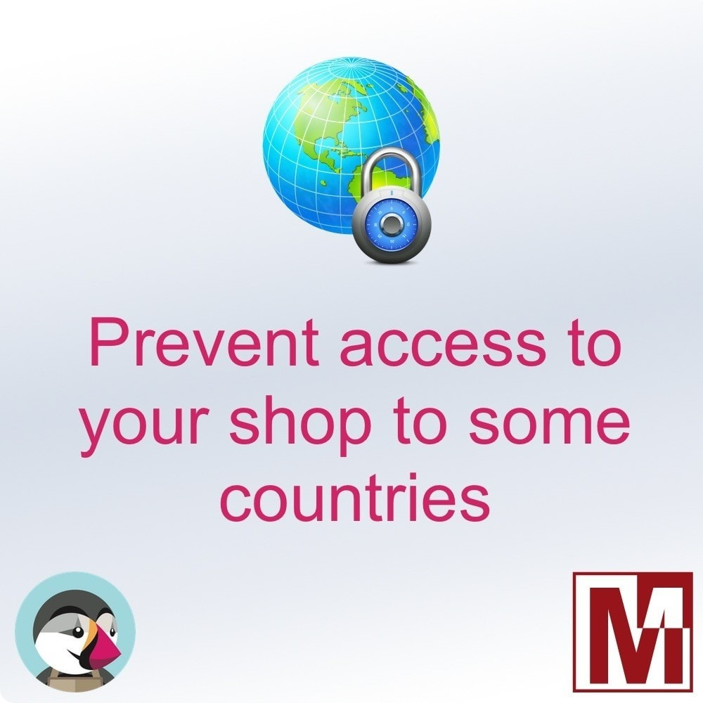 module - Security & Access - Allow or Deny access by countries - 1