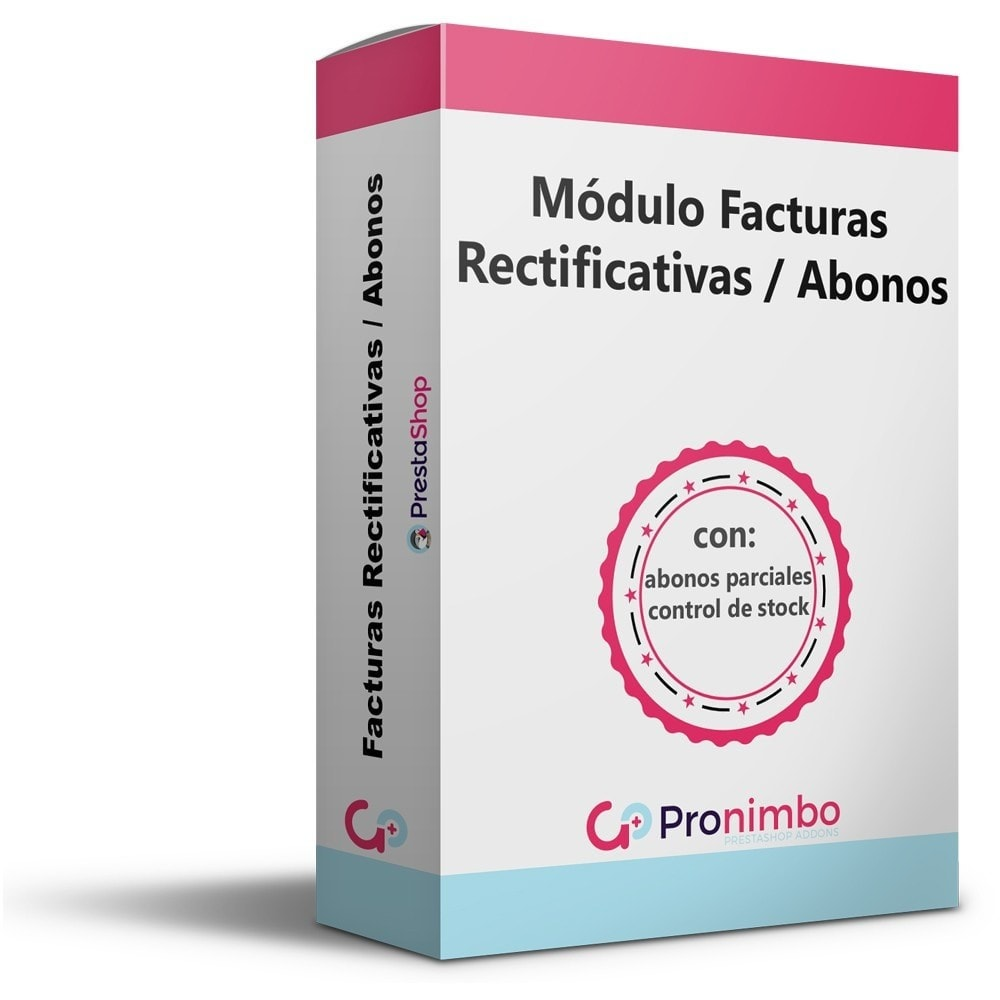 module - Contabilidad y Facturas - Facturas Rectificativas/Abonos.Totales y Parciales. - 1