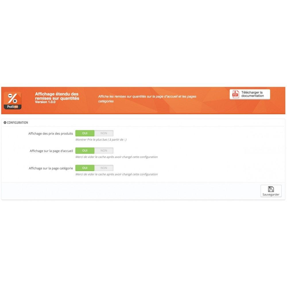 module - Gestion des Prix - Affichage étendu des remises sur quantités - 4