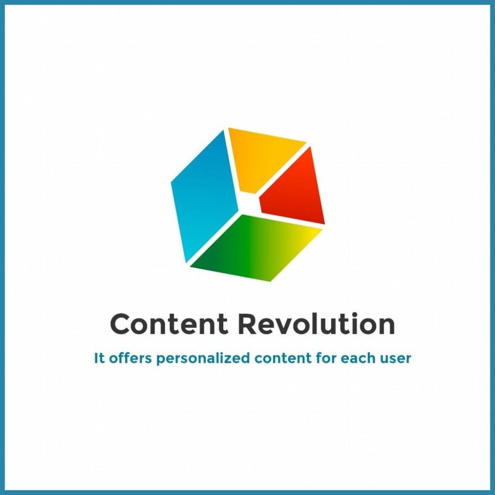 module - Blocs, Onglets & Bannières - Content Revolution - 1