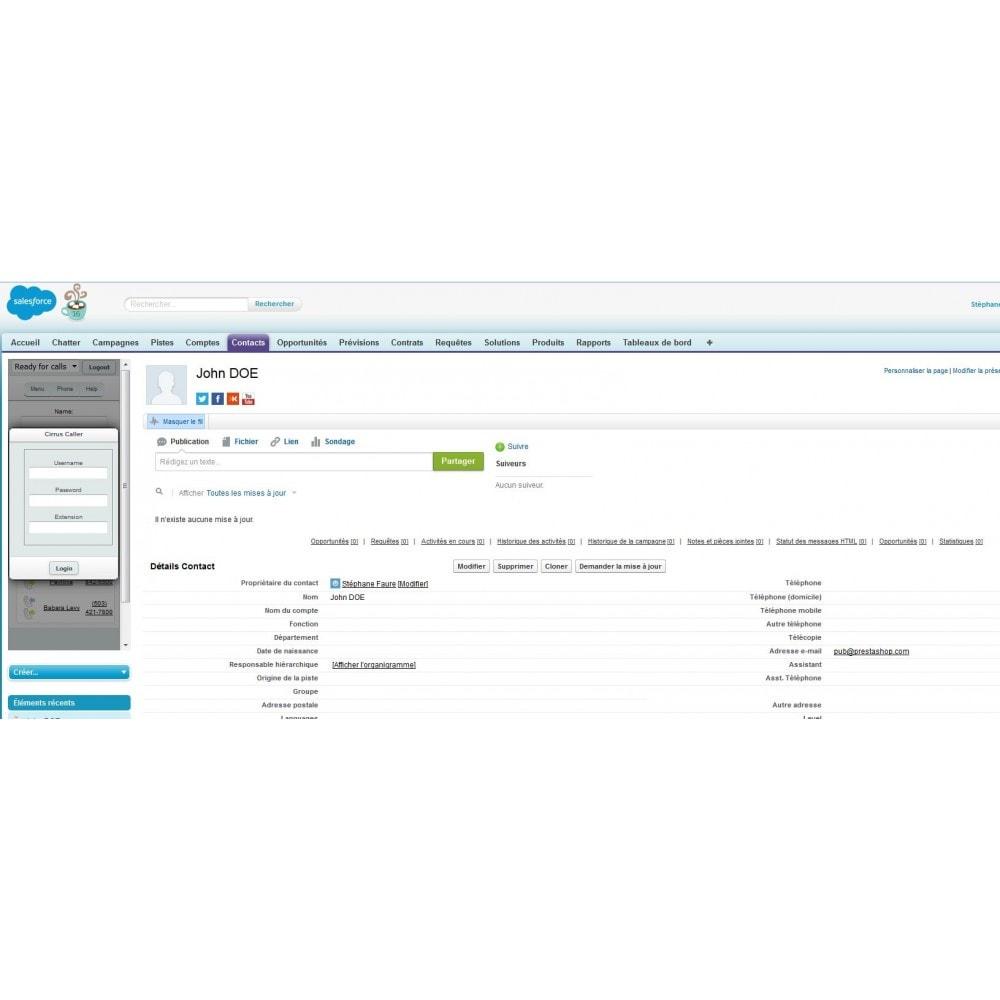 module - Connexion à un logiciel tiers (CRM, ERP...) - Myddleware - 6