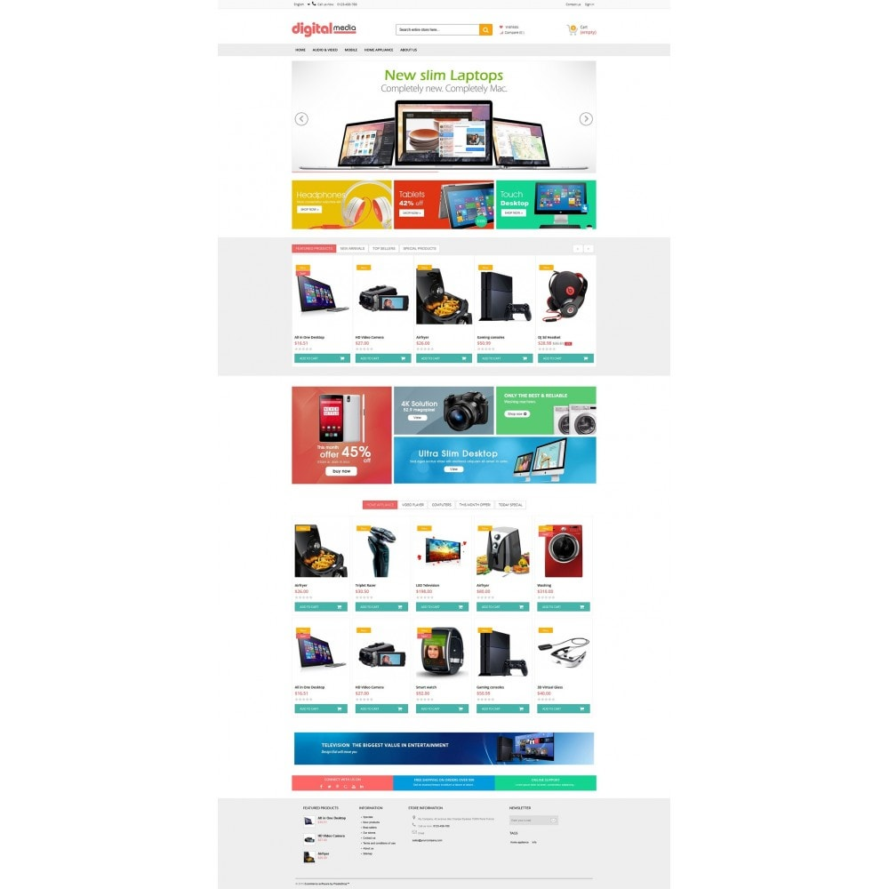 theme - Elettronica & High Tech - Digitalmedia Multi-purpose HTML5 - 7