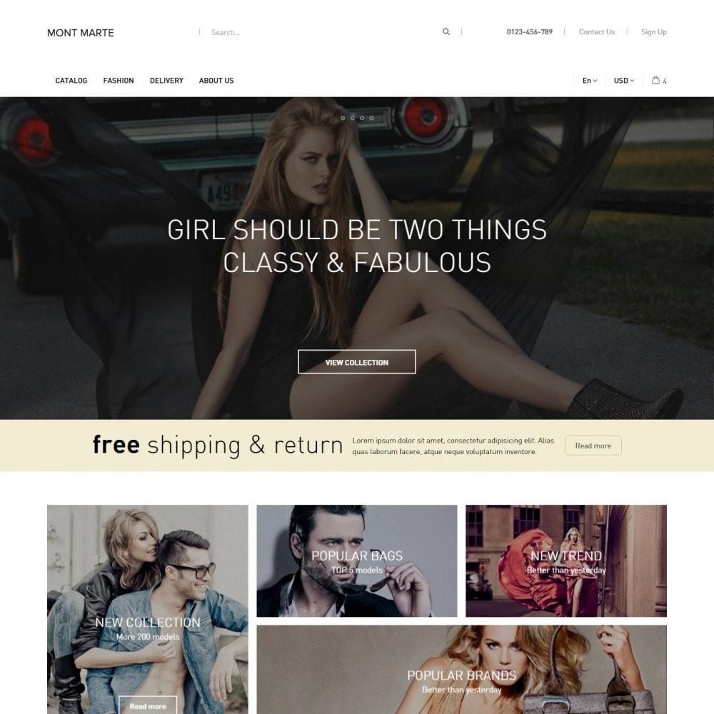theme - Мода и обувь - Mont Marte Магазин Одежды - 2