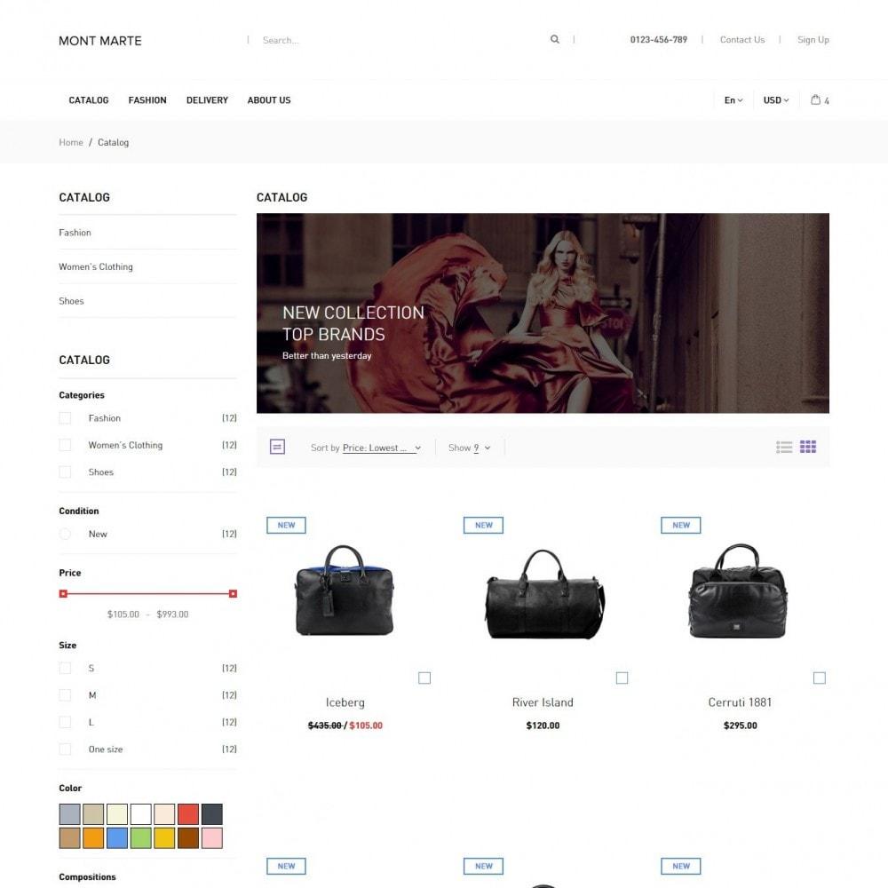 theme - Мода и обувь - Mont Marte Магазин Одежды - 3