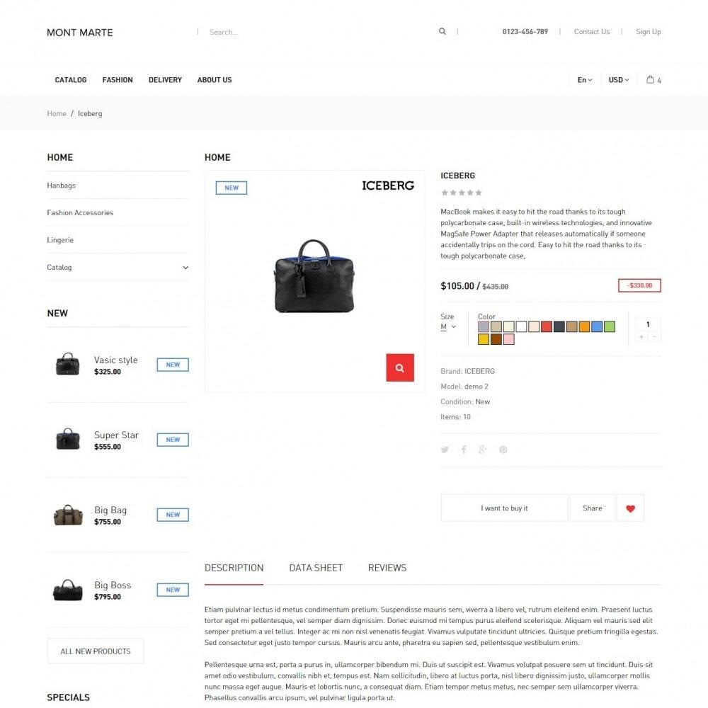 theme - Мода и обувь - Mont Marte Магазин Одежды - 4