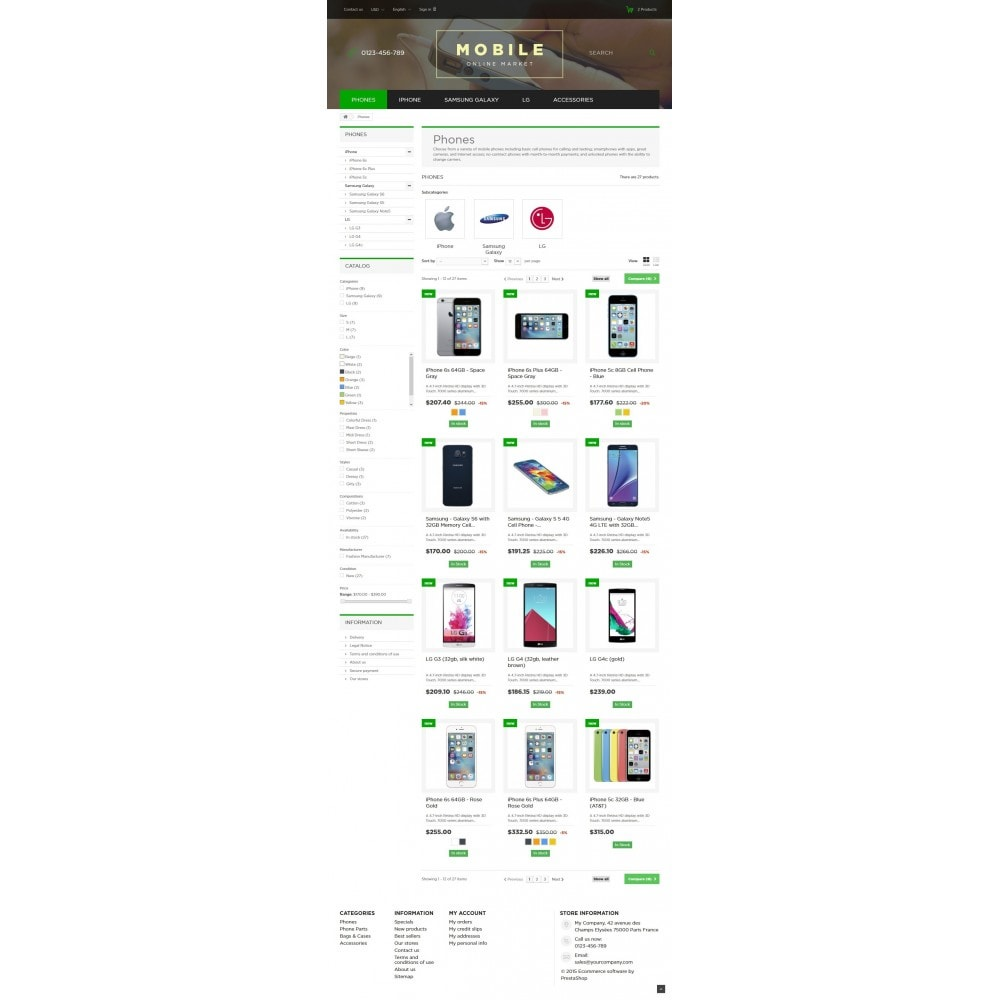 theme - Elektronica & High Tech - Mobile Online Market 1.6 Responsive - 5