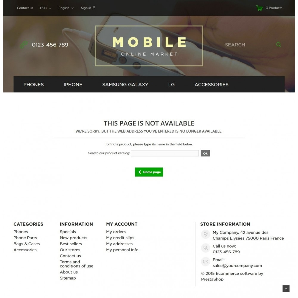 theme - Elektronika & High Tech - Mobile Online Market 1.6 Responsive - 9