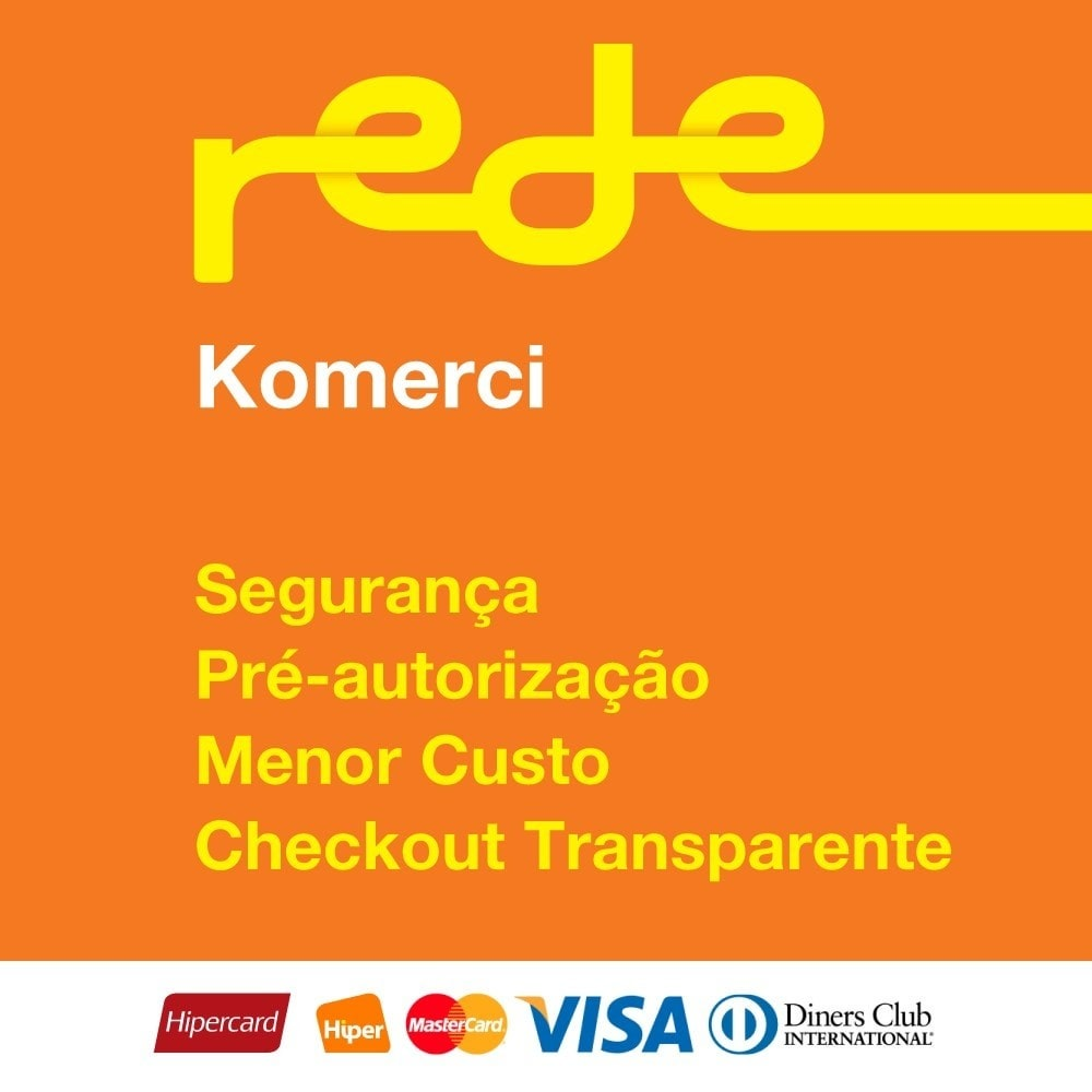 module - Creditcardbetaling of Walletbetaling - Brazilian Payment by Rede Card - Komerci - 1