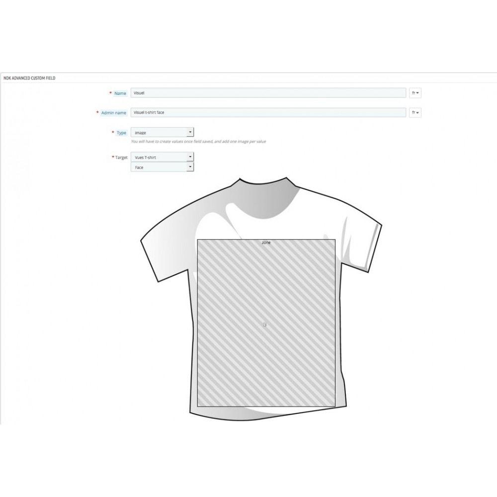 module - Вариаций и персонализации товаров - Product options and customization - 9