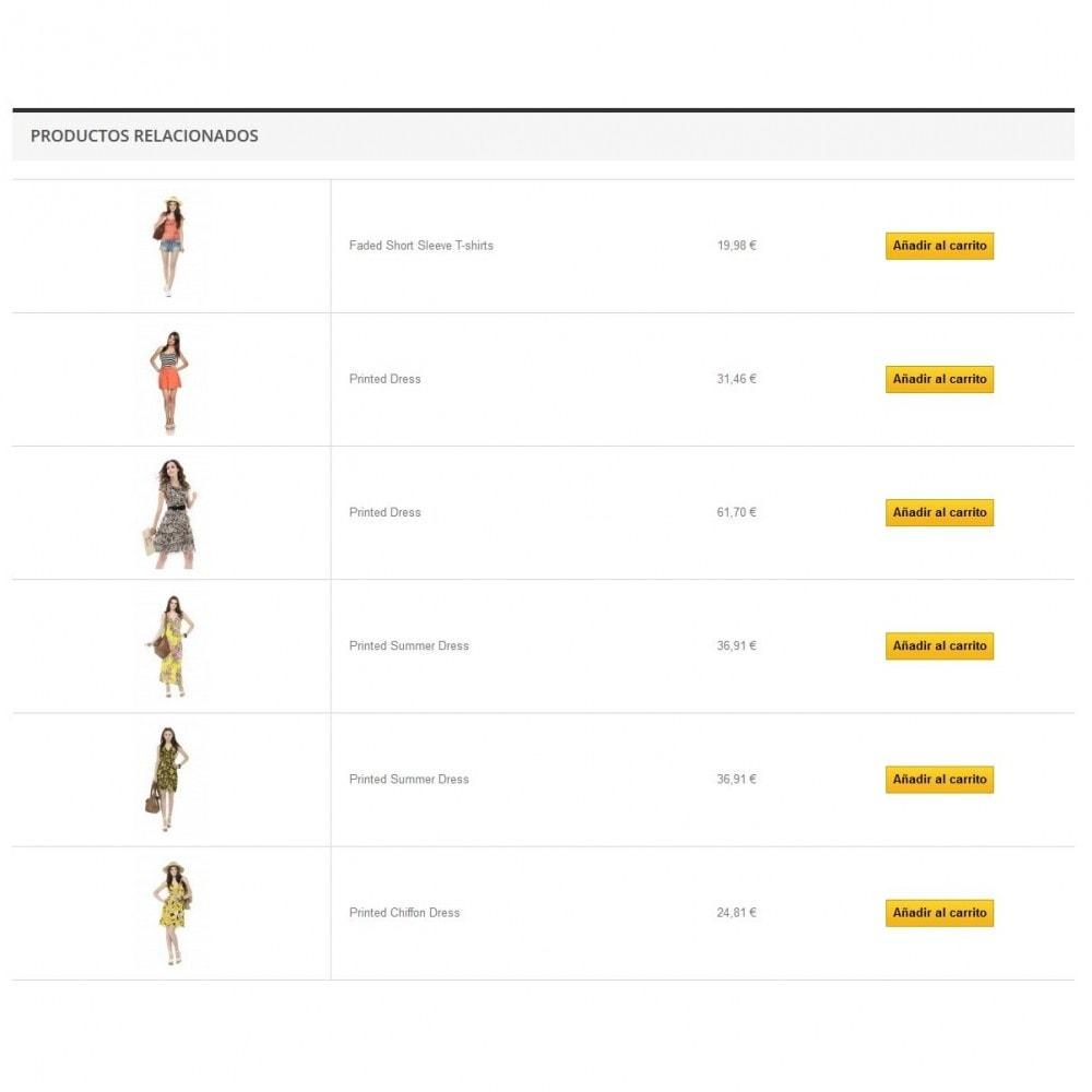 module - Ventas cruzadas y Packs de productos - Carousel de productos relacionados - 3