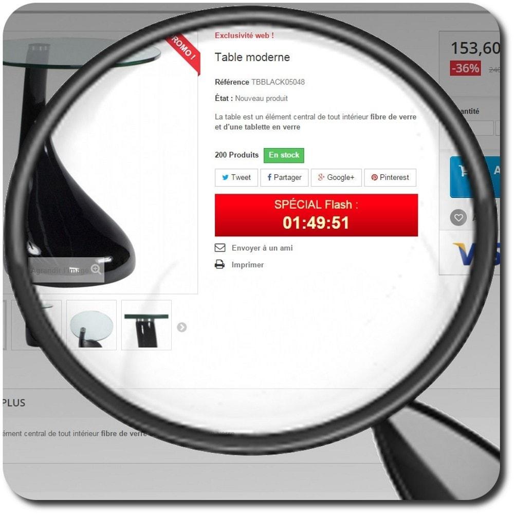 module - Ventes Flash & Ventes Privées - Déclenche la vente instantanément - 2
