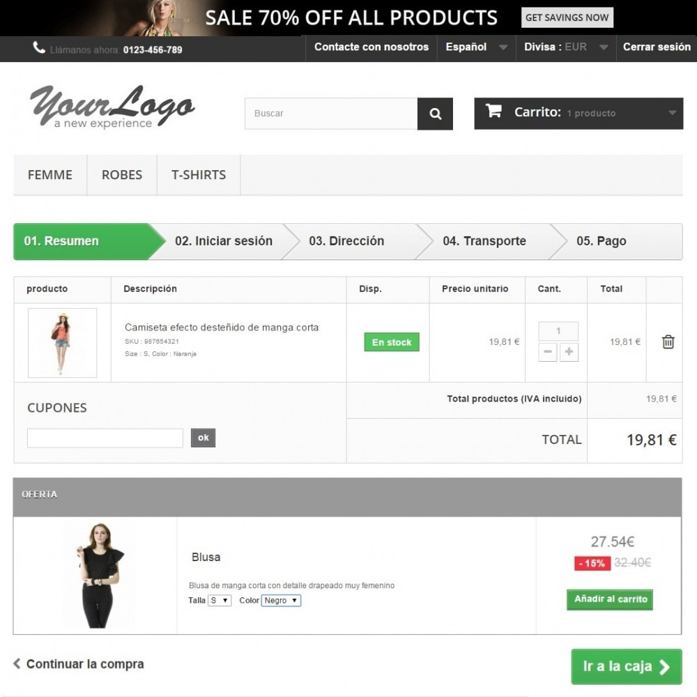 module - Ventas cruzadas y Packs de productos - Average Cart Booster (Cross-selling) - 2