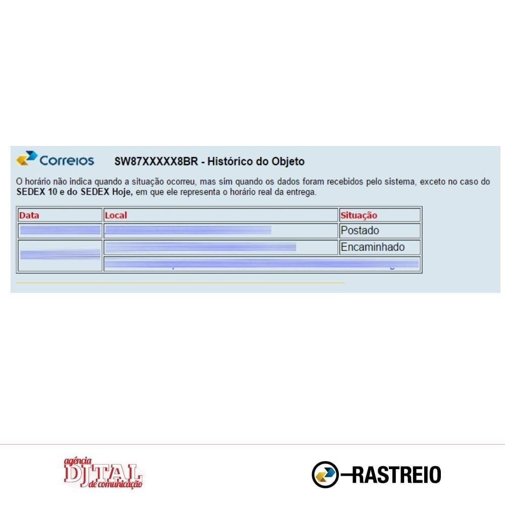 module - Bezorging volgen - Brazilian Correios Tracking - 5
