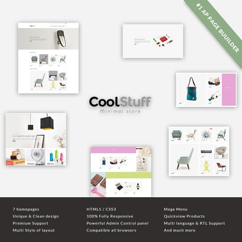 theme - Huis & Buitenleven - Leo CoolStuff  - Furniture & Decoration Template - 1