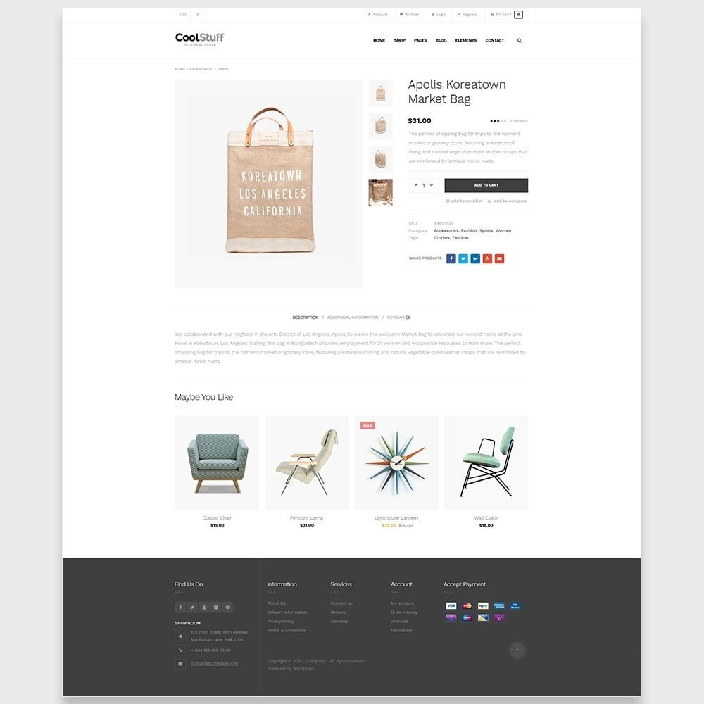 theme - Huis & Buitenleven - Leo CoolStuff  - Furniture & Decoration Template - 5