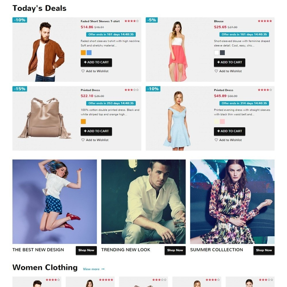 theme - Moda & Calçados - Zro02 - Fashion Responsive & Flexible - 3