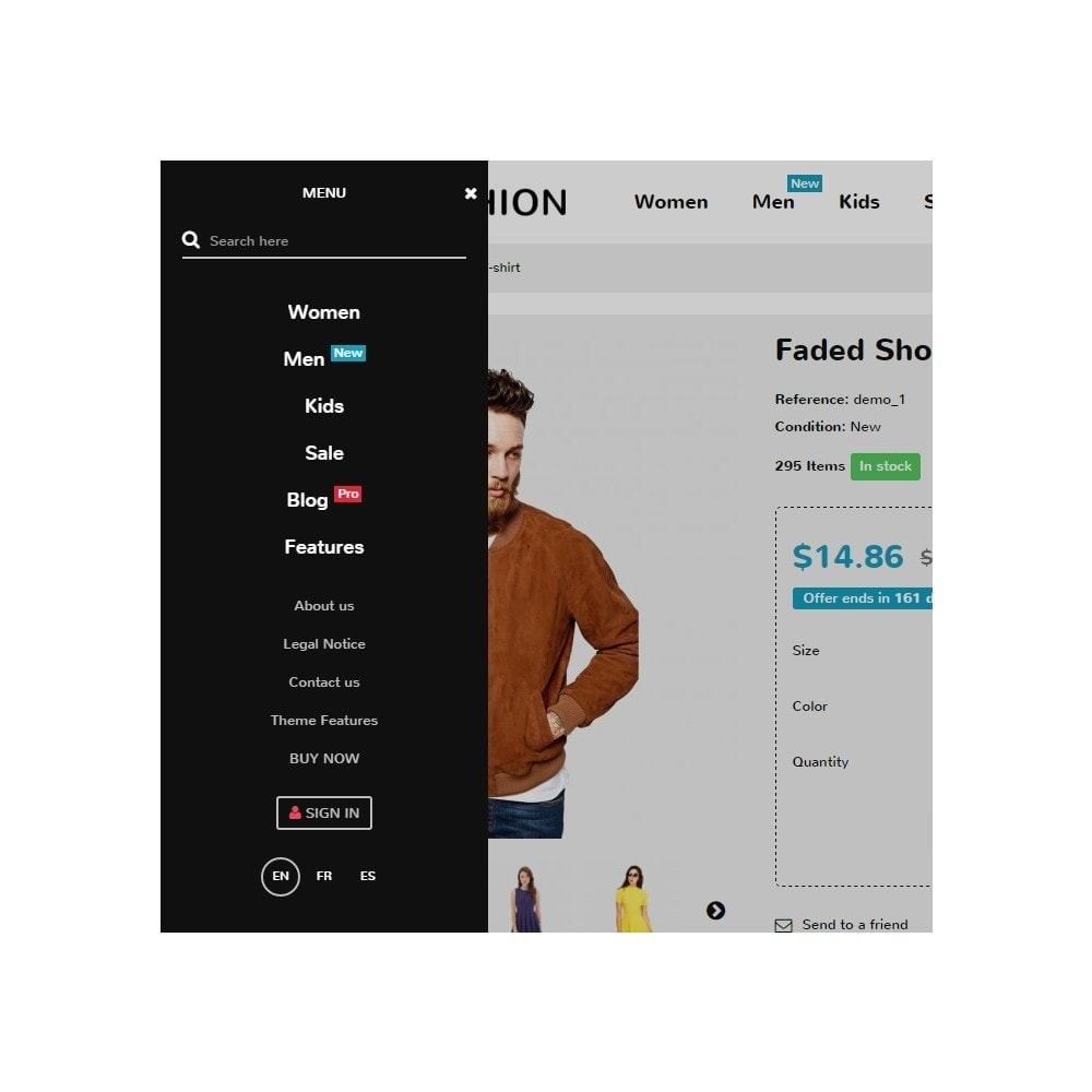 theme - Moda y Calzado - Zro02 - Fashion Responsive & Flexible - 11