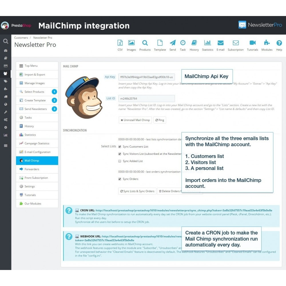 module - Рассылка новостей и SMS - Newsletter Pro - 16