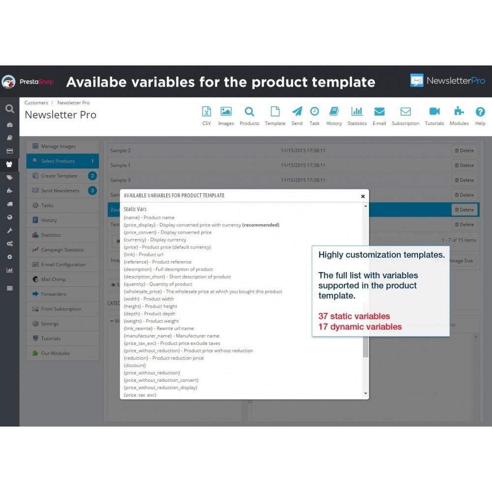 module - Newsletter & SMS - Newsletter Pro - 20